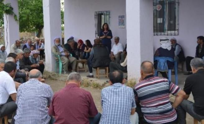 Bdp Köylerde Barış Sürecini Anlattı