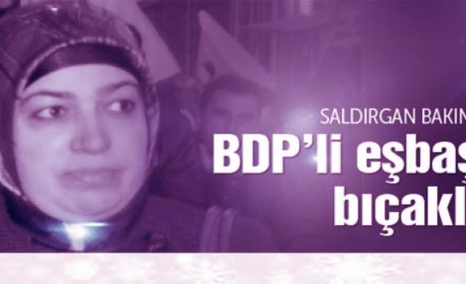 BDP'li başkan yardımcısına saldırı!