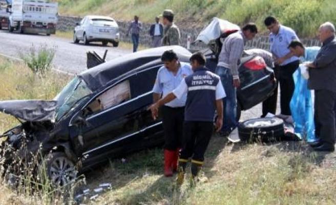 Bismil Belediye Başkanı Trafik Kazası Geçirdi