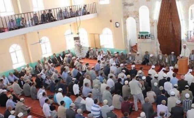 Bismil İhsaniye Camisi'nde İcazet Töreni