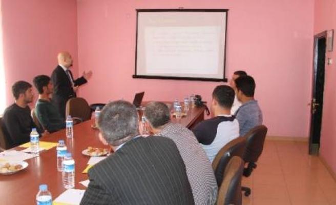 Bismil'deki Kasaplara Sağlık Semineri
