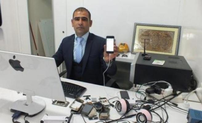 Bismilli Tamirciden Telefonlara Kürtçe Menü