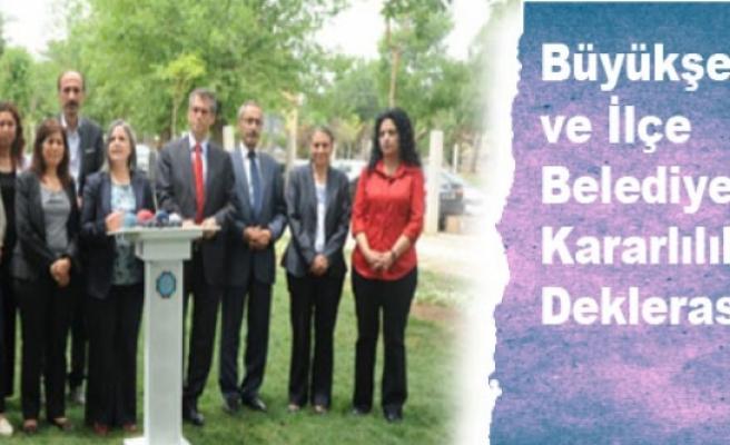 Büyükşehir ve İlçe Belediyelerde Kararlılık Deklerasyonu