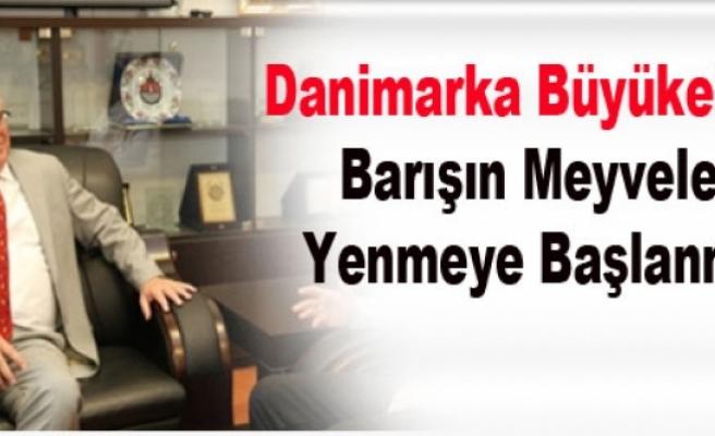 Danimarka Büyükelçisi: Barışın Meyveleri Yenmeye Başlanmalı