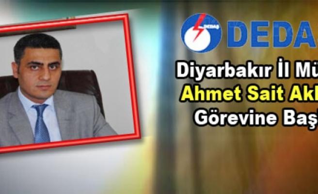 Dedaş Diyarbakır İl Müdürü Akboğa Görevine Başladı