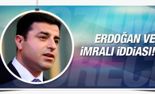 Demirtaş'tan flaş İmralı ve Erdoğan iddiası!