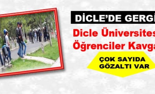 Dicle Üniversitesi'nde Öğrenciler Kavga Etti