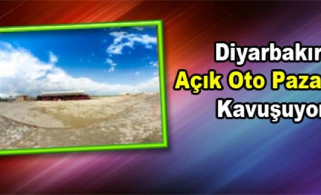 Diyarbakır Açık Oto Pazarına Kavuşuyor