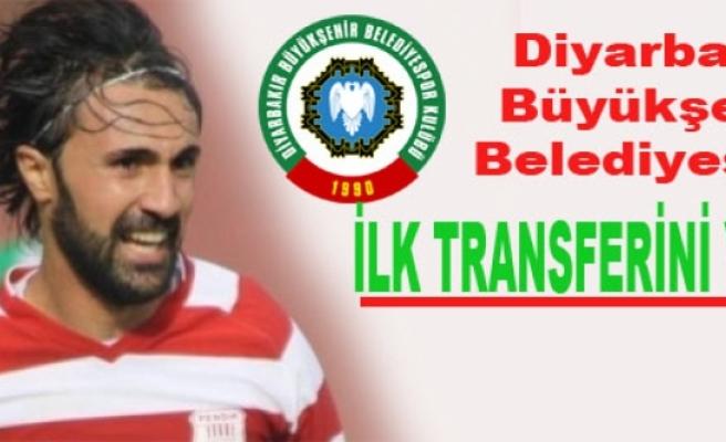 Diyarbakır Büyükşehir Belediyespor İlk Transferini Yaptı