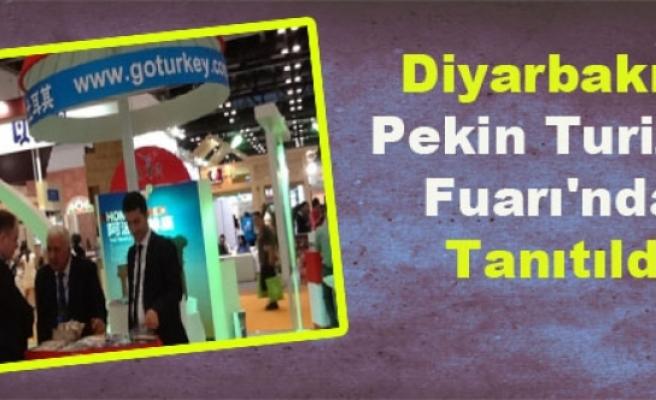 Diyarbakır, Pekin Turizm Fuarı'nda Tanıtıldı