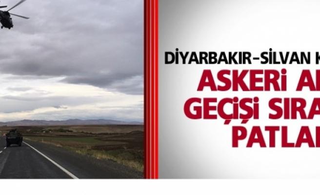 Diyarbakır-Silvan Karayolunda Patlama
