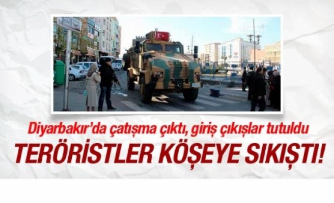 Diyarbakır Sur'da PKK çatışması şiddetlendi!