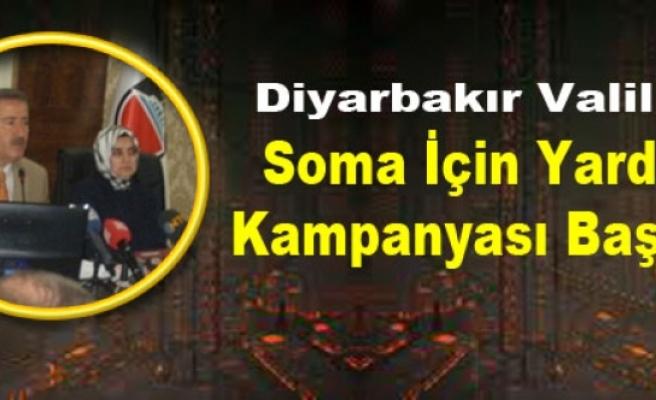 Diyarbakır Valiliği, Soma İçin Yardım Kampanyası Başlattı