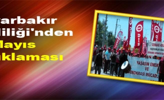 Diyarbakır Valiliği'nden 1 Mayıs Açıklaması