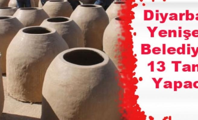 Diyarbakır Yenişehir Belediyesi, 13 Tandır Yapacak