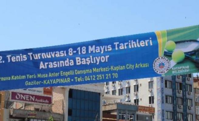 Diyarbakır'da 2. Tenis Turnuvası Başlıyor