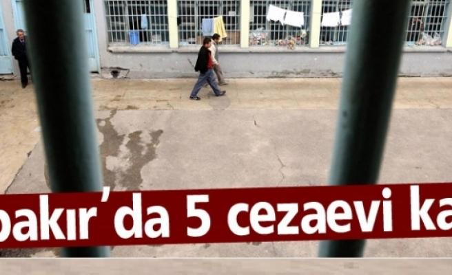 Diyarbakır'da 5 cezaevi kapatıldı