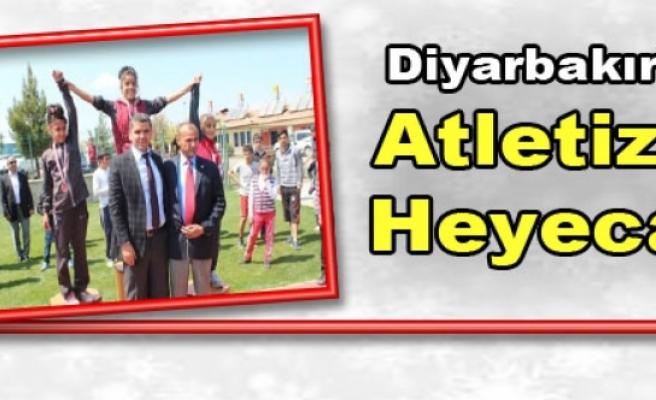 Diyarbakır'da Atletizm Heyecanı