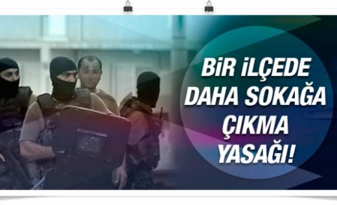 Diyarbakır'da bir ilçede daha sokağa çıkma yasağı!