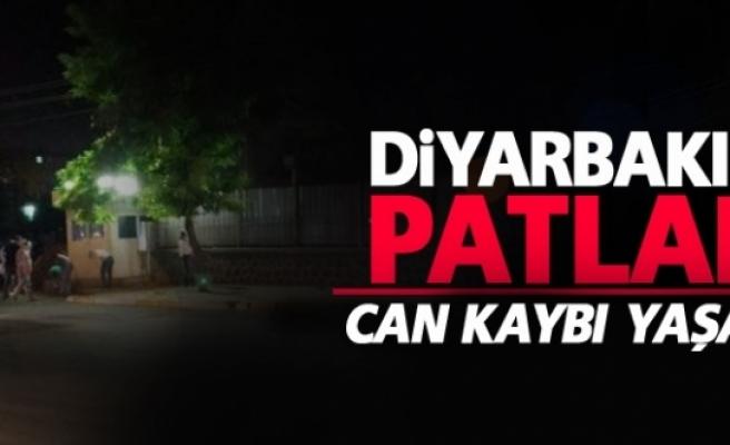 Diyarbakır'da bombalı saldırı: Can kaybı yaşanmadı