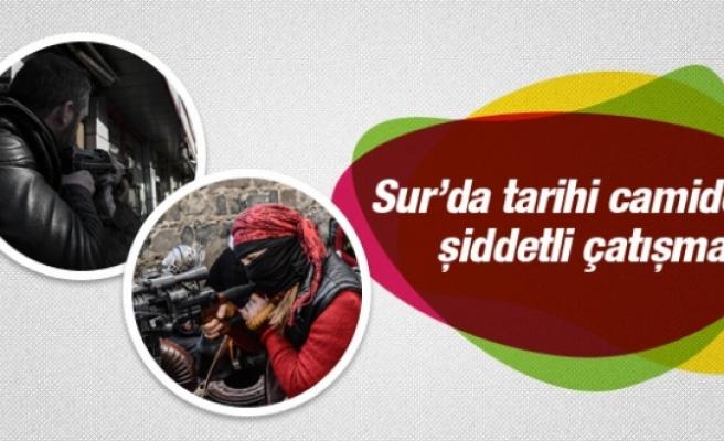 Diyarbakır'da çatışmalar başladı: 1 polis yaralı!