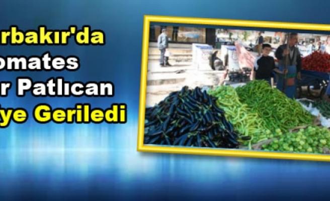 Diyarbakır'da Domates Biber Patlıcan 1 TL'ye Geriledi