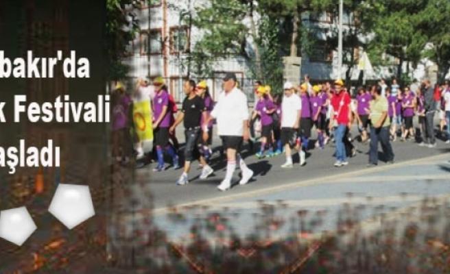 Diyarbakır'da Gençlik Festivali Başladı