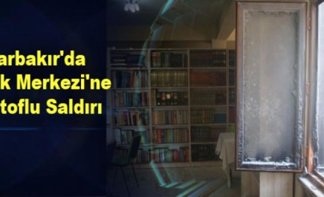 Diyarbakır'da Gençlik Merkezi'ne Molotoflu Saldırı