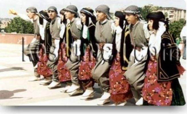 Diyarbakır'da halk oyunları yarışması sona erdi