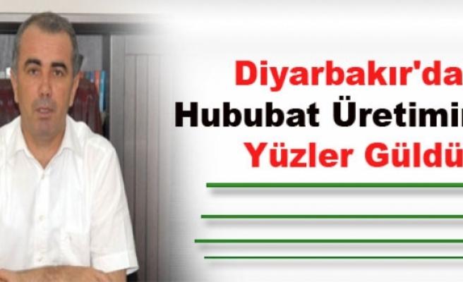 Diyarbakır'da Hububat Üretiminde Yüzler Güldü
