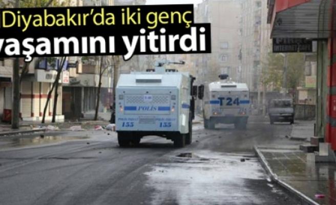 Diyarbakır'da iki genç hayatını kaybetti
