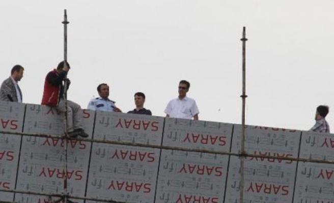 Diyarbakır'da İntihar Girişimi