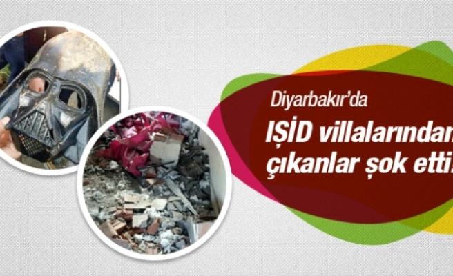 Diyarbakır'da IŞİD villalarından çıkanlar şok etti!