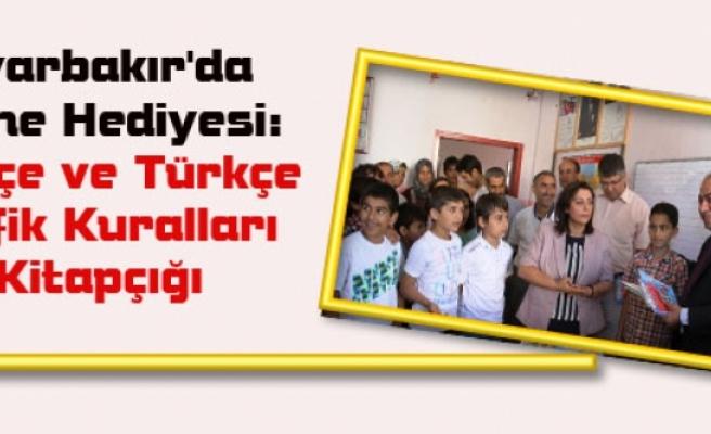 Diyarbakır'da Karne Hediyesi: Kürtçe ve Türkçe Trafik Kuralları Kitapçığı