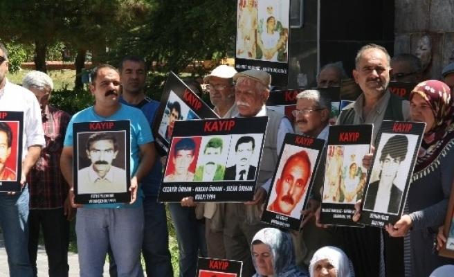 Diyarbakır'da Kayıp Yakınlarının Eylemi 286. Haftada