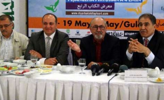 Diyarbakır'da Kitap Fuarı Başlıyor