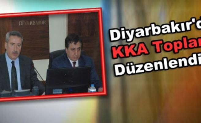 Diyarbakır'da KKA Toplantısı Düzenlendi