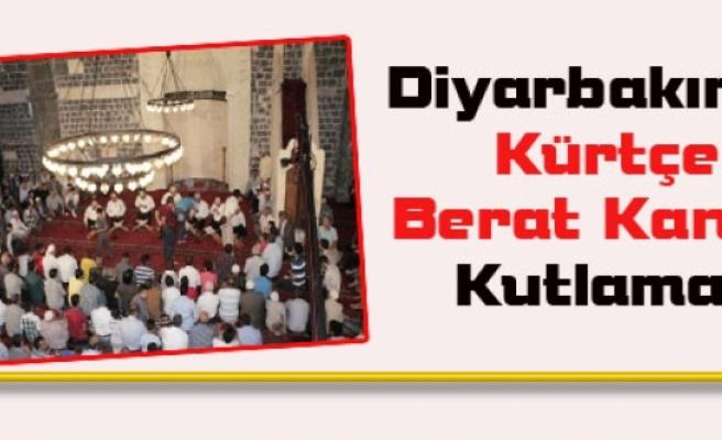 Diyarbakır'da Kürtçe Berat Kandili Kutlaması