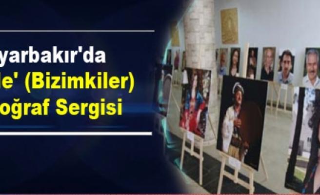 Diyarbakır'da 'Ên Me' (Bizimkiler) Fotoğraf Sergisi
