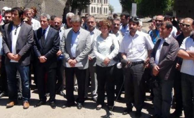 Diyarbakır'da Nevin Soylukaya Protestosu