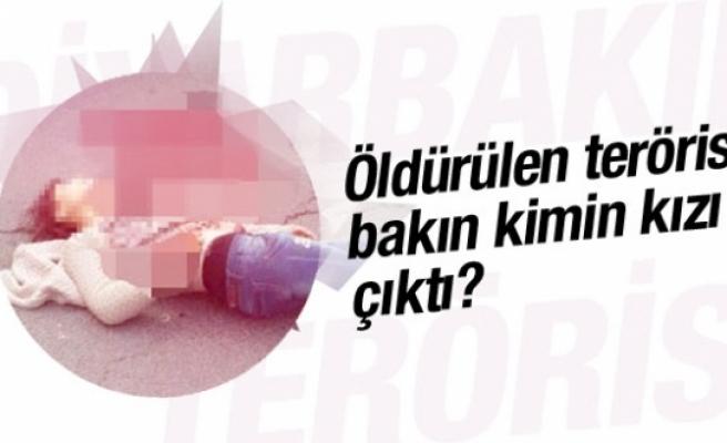 Diyarbakır'da öldürülen terörist bakın kimin kızı çıktı?