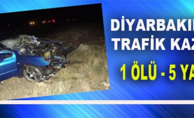 Diyarbakır'da Otomobille Kamyon Çarpıştı: 1 Ölü, 5 Yaralı