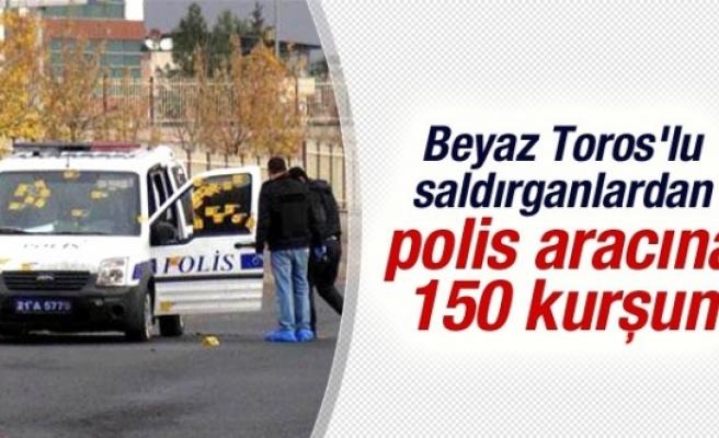 Diyarbakır'da Polis Aracına Silahlı Saldırı