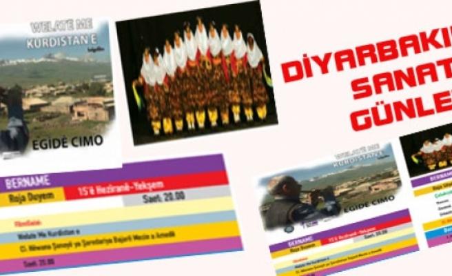 Diyarbakır'da Sanat Günleri