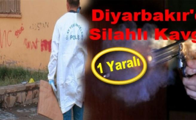Diyarbakır'da Silahlı Satırlı Kavga: 1 Yaralı