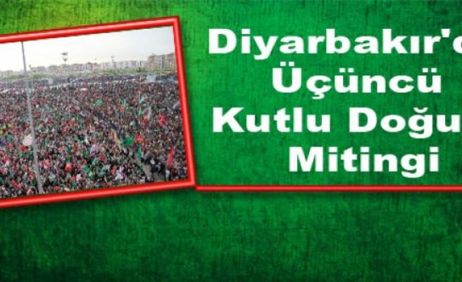 Diyarbakır'da Üçüncü Kutlu Doğum Mitingi