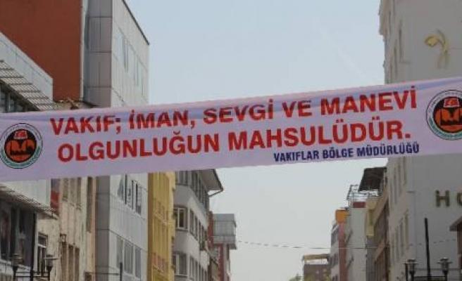 Diyarbakır'da Vakıflar Haftası