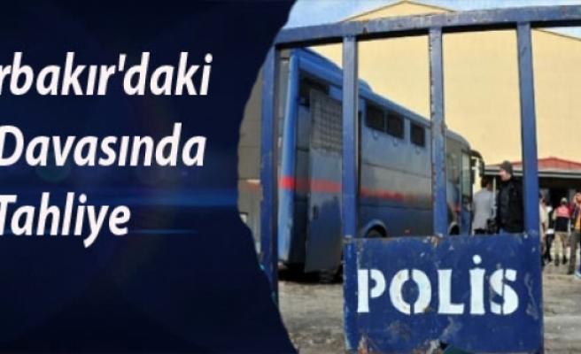 Diyarbakır'daki Kck Davasında Tahliye