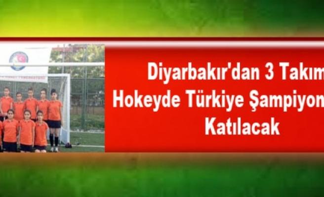 Diyarbakır'dan 3 Takım, Hokeyde Türkiye Şampiyonasına Katılacak