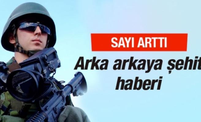 Diyarbakır'dan arka arkaya şehit haberleri